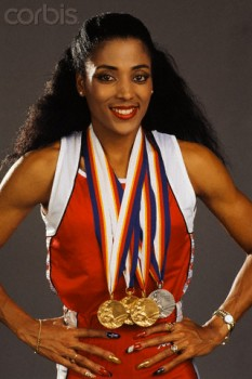 Florence Delorez Griffith Joyner (December 21, 1959 – September 21, 1998), also known as Flo-Jo, was an American track and field athlete - foto: corbisimages.com