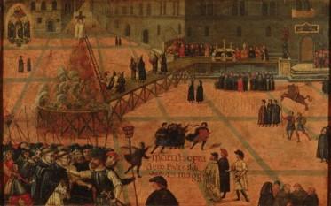 Executia lui Savonarola - foto: cersipamantromanesc.wordpress.com