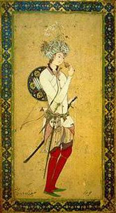 Hārūn al-Rashīd (n. 17 martie 763 - d. 24 martie 809) a fost al cincilea și cel mai cunoscut calif din Dinastia Abbasizilor. S-a născut în Rayy, lângă Teheran, și a locuit în Bagdad. În timpul domniei (786 - 809) a locuit în Rakka, oraș pe malul Eufratului. Domnia lui a fost o perioadă de avânt cultural, științific și religios, a fost fondatorul bibliotecii Bayt al-Hikma (Casa Înțelepciunii). A devenit un personaj legendar, unele din poveștile despre el fiind adevărate (de exemplu ceasul pe care l-a dăruit lui Carol cel Mare), altele, precum cele din 1001 de nopți ale Șeherezadei, fiind doar ficțiune - foto: ro.wikipedia.org