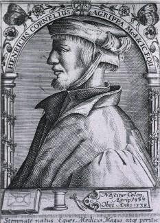 Heinrich Cornelius Agrippa von Nettesheim (n. 14 septembrie 1486 — d. 18 februarie 1535) naturalist, astrolog, alchimist, filozof și autor german de scrieri oculte - foto: ro.wikipedia.org