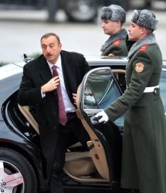 Ilham Aliyev, președintele Azerbaidjanului. FOTO: Mediafax/AFP/Sergei Supinsky