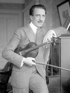 Jacques Thibaud (n. 27 septembrie 1880, Bordeaux — d. 1 septembrie 1953, Mt. Cemet, în Alpii francezi), mare violonist francez - foto: ro.wikipedia.org