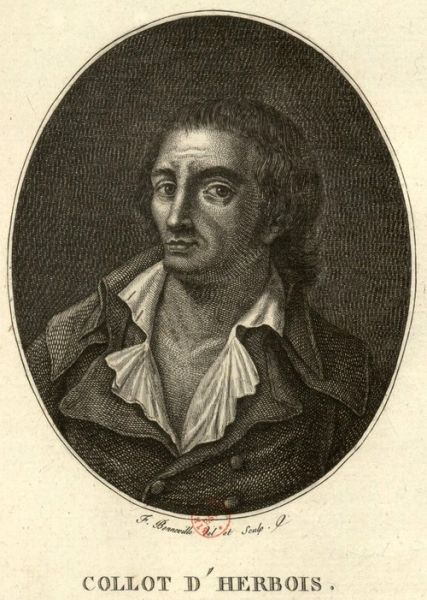 Jean-Marie Collot d'Herbois (19 June 1749 – 8 June 1796) was a French actor, dramatist, essayist, and revolutionary - foto: en.wikipedia.org