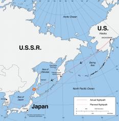 Zborul avionului de pasageri sud-corean - foto - ro.wikipedia.org