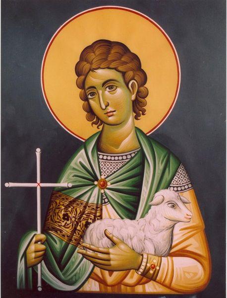 Sfântul Mucenic Mamant. Prăznuirea sa de către Biserica Ortodoxă se face la data de 2 septembrie - foto: doxologia.ro