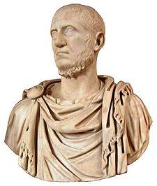 Marcus Claudius Tacitus (ca. 200 - Iunie 276) a fost Împărat roman din 25 Septembrie, 275, până în Iunie 276 - foto: ro.wikipedia.org