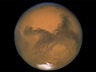 NASA anunţă că a descoperit semne care indică prezenţa apei pe planeta Marte (Foto: Arhiva Mediafax Foto)