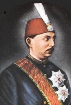 Murat al V-lea (21 IX  1840 - 29 VIII 1904) sultanul otoman din 30 mai 1876 pana la 31 august in acelasi an - foto: cersipamantromanesc.wordpress.com