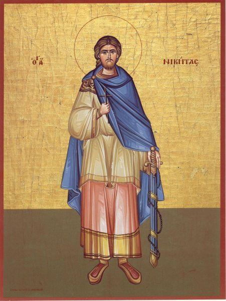 Sfântul Mare Mucenic Nichita Romanul (sau Nichita Daco-Romanul) este un preot misionar și mucenic din Câmpia Dunării, care a mucenicit în anul 372. Prăznuirea lui în Biserica Ortodoxă se face la 15 septembrie - foto: doxologia.ro