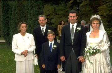 21 septembrie 1996, Margareta, principesa de Hohenzollern, fiica regelui Mihai I, s-a casatorit cu Radu Duda, devenit principe de Hohenzollern-Veringen (la 1 ianuarie 1999) - foto: http://radioenigmaromania.ro/