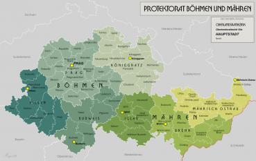 Protectoratul Boemiei şi Moraviei - foto: ro.wikipedia.org