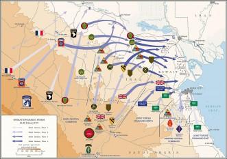 Războiul din Golf. Schemǎ a conflictului - foto: ro.wikipedia.org