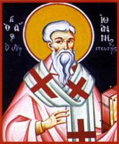 Sf. Ierarh Ioan Postitorul, Patriarhul Constantinopolului - foto - calendar-ortodox.ro