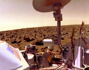 NASA's 1976 Viking Landers Could Have Missed Organics on Mars -  foto: nasa.gov