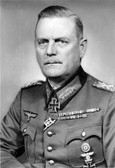 Wilhelm Bodewin Johann Gustav Keitel (n. 22 septembrie 1882 – d. 16 octombrie 1946), ofițer german care a deținut gradul de feldmareșal al celui de-al Treilea Reich german. În calitate de comandant al comandamentului suprem al armatei (Oberkommando der Wehrmacht (OKW)), Keitel a fost unul dintre liderii militari importanți ai Germaniei naziste - foto (Wilhelm Keitel în 1942): ro.wikipedia.org