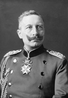 Wilhelm al II-lea (Friedrich Wilhelm Albert Victor von Preußen; n. 27 ianuarie 1859, Berlin – d. 4 iunie 1941, Olanda), ultimul împărat al Germaniei și rege al Prusiei de la 1888 la 1918 - foto (Wilhelm al II-lea în 1902): ro.wikipedia.org