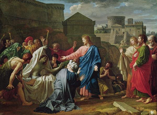 """""""Învierea fiului văduvei din Nain"""" - Pierre Bouillon - foto: wikimedia.org"""