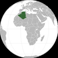 Amplasarea Algeriei foto: ro.wikipedia.org