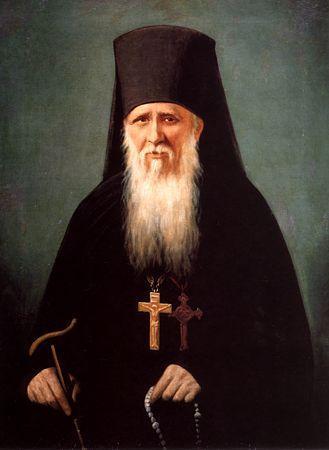 Sfântul Ambrozie este socotit vârful Părinţilor duhovniceşti de la Mănăstirea Optina. El a întrupat virtuţile tuturor bătrânilor (părinţilor duhovniceşti) în suişul lor cel mai înalt: smerenie sfântă, curăţia minţii şi a inimii, dragoste îmbelşugată şi jertfa de sine desăvârşită pentru mântuirea aproapelui. Pentru că el atinsese adâncimile smereniei, Domnul l-a binecuvântat cu daruri duhovniceşti prin care să vindece suflete bolnave. El citea inimile oamenilor şi îi era îngăduit să cunoască trecutul, prezentul şi viitorul oamenilor şi le vorbea în chip nemijlocit cuvântul descoperit al lui Dumnezeu. Darurile lui era atât de mari, încât sute de oameni se adunau zilnic la coliba lui smerită din mijlocul Rusiei. Printre aceştia erau scriitorii Dostoievski, Tolstoi, Leontiev şi Soloviev. Dostoievski a fost atât de impresionat de pelerinajul său la Optina şi la Bătrânul Ambrozie, încât a scris ultimul şi cel mai mare roman al său – Fraţii Karamazov, cu scopul vădit de a reprezenta chipul duhovnicesc al Mănăstirii Optina şi pe Bătrânul Ambrozie. Prăznuirea lui se face la 11 octombrie (pomenirea Sfinţilor de la Optina), 27 iunie, 10 octombrie - foto: doxologia.ro