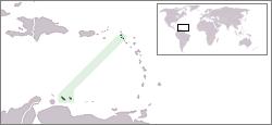 Amplasarea Antilelor Olandeze - foto: ro.wikipedia.org