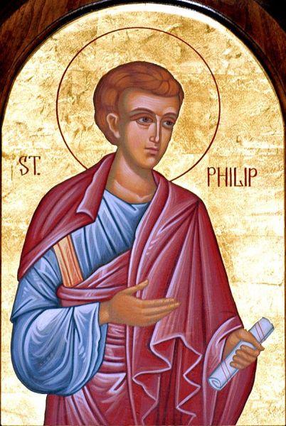 Sfântul Apostol Filip, unul dintre cei 7 diaconii - foto preluat de pe doxologia.ro