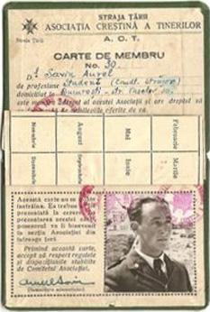 Aurel Savin (n. 8 octombrie 1917, Jorăști, Galați, România, decedat 11 noiembrie 2007, teolog, jurist și activist al societății civile român, președintele YMCA România - foto: ro.wikipedia.org