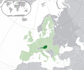 Amplasarea Austriei - foto: ro.wikipedia.org