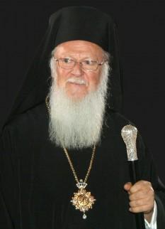 Bartolomeu I (numele său laic fiind cel de Demetrios Arhontonis) (n. 29 februarie 1940, insula Imbros, Turcia), din 2 noiembrie 1991, cel de-al 270-lea patriarh ecumenic al Patriarhiei de Constantinopol  foto: ro.wikipedia.org