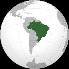 Amplasarea Braziliei - foto: ro.wikipedia.org