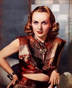 Carole Lombard (n. 6 octombrie 1908; d. 16 ianuarie 1942), născută Jane Alice Peters în Foer Wayne, Indiana, actriță de origine americană -  foto: ro.wikipedia.org