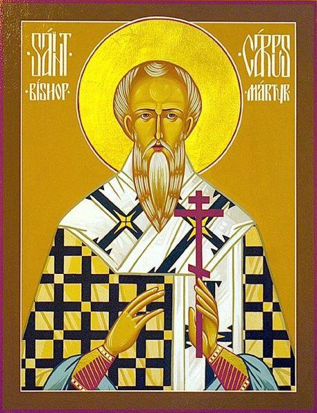 Sfântul Mucenic Carp. Prăznuirea sa de către Biserica Ortodoxă Romana se face la data de 13 octombrie - foto: doxologia.ro