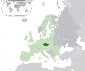Amplasarea Cehiei foto: ro.wikipedia.org