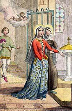 Sf. Celina, călugăriță - foto: calendarcatolic.ro