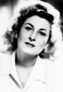 Cella Serghi (n. 4 noiembrie S.V. 22 octombrie 1907, Constanța, d. 19 septembrie 1992, București), scriitoare, publicistă și traducătoare română, una dintre cele mai importante prozatoare române ale literaturii interbelice - foto: jurnalul.ro