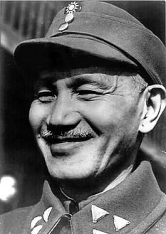 Chiang Kai-Shek (Jiang Jieshi) (*31 octombrie 1887 -5 aprilie 1975 ), om politic chinez, președinte al guvernului național din Nanjing (1928-1949) foto: ro.wikipedia.org