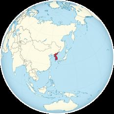 Amplasarea Coreea - foto: ro.wikipedia.org