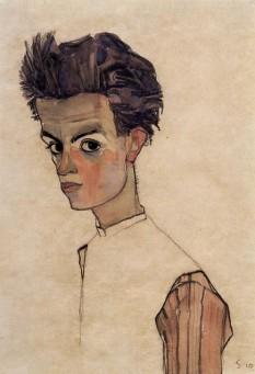 Egon Schiele (n. 12 iunie 1890, Tulln (Austria) - d. 31 octombrie 1918, Viena) , pictor austriac. Alături de Gustav Klimt și Oskar Kokoschka, este considerat unul din cei mai importanți reprezentanți ai artei vieneze moderne foto (Autoportret la vârsta de 20 de ani (1910) - Leopold Museum, Viena): ro.wikipedia.org