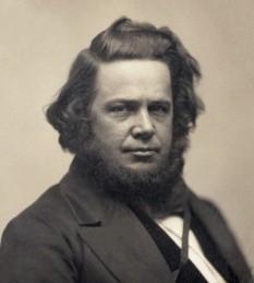Elias Howe (9 iulie, 1819 – 3 octombie, 1867), inventator american, pionier în dezvoltarea mașinilor de cusut - foto (Elias Howe, circa 1850): en.wikipedia.org