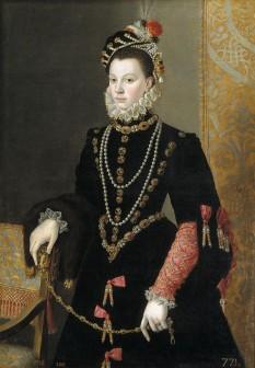 Elisabeta de Valois (n. 2 aprilie 1545 – d. 3 octombrie 1568) cunoscută și sub numele de Elisabeta a Franței (franceză Élisabeth de France), fiica cea mare a regelui Henric al II-lea al Franței și a Caterinei de Medici -foto (Elisabeta de Valois, de Sofonisba Anguissola, 1565): ro.wikipedia.org