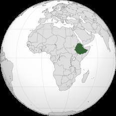 Amplasarea Etiopiei - foto: ro.wikipedia.org