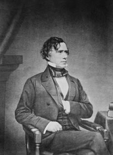 Franklin Pierce (n. 23 noiembrie 1804 - d. 8 octombrie 1869), militar și politician american, precum și cel de-al patrusprezecelea președinte al Statelor Unite ale Americii, servind un singur mandat prezidențial între 1853 și 1857 - foto: ro.wikipedia.org