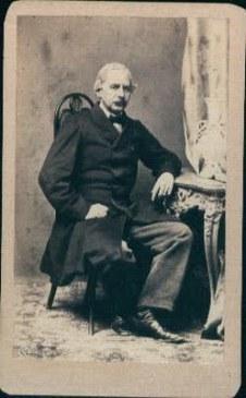 Gheorghe A. Polizu (n. 1819, București - d. 16 octombrie 1886, București), medic român, membru de onoare al Academiei Române - foto: cersipamantromanesc.wordpress.com