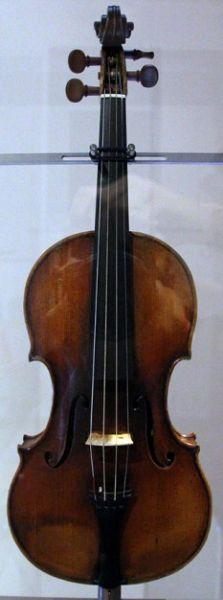 Giuseppe Guarneri del Gesù (21 august 1698 – 17 octombrie 1742) este singurul lutier a carui instrumente rivalizeaza cu cele ale mult mai celebrului Antonio Stradivari - foto (:Violin Il Cannone once owned by Niccolò Paganini) en.wikipedia.org