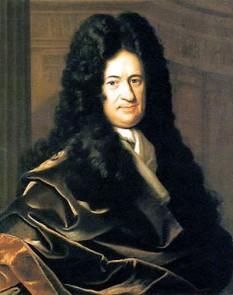 Gottfried Wilhelm Freiherr von Leibniz (n. 1 iulie 1646, Leipzig, d. 14 noiembrie 1716, Hanovra), filozof și matematician german, unul din cei mai importanți filozofi de la sfârșitul secolului al XVII-lea și începutul celui de al XVIII-lea, unul din întemeietorii iluminismului german foto Gottfried Wilhelm von Leibniz, portret de Bernard Christoph Francke, în jurul anului 1700: ro.wikipedia.org