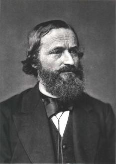 Gustav Robert Kirchhoff (n. 12 martie 1824, Königsberg, azi Kaliningrad — d. 17 octombrie 1887, Berlin), fizician german multilateral - foto: ro.wikipedia.org