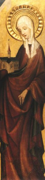 Sfânta Hedviga, cunoscută și ca Hedviga de Andechs  sau Hedviga de Silezia, (n. 1174, Andechs - d. 15 octombrie 1243, Trebnitz, Silezia), principesă a Sileziei. A fost canonizată în anul 1267 - foto: ro.wikipedia.org