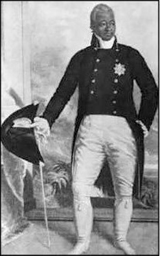 Henri Christophe, iar în creola haitiană, Anri Kristòf , (n. 6 octombrie 1767 – d. 8 octombrie 1820), ofițer și apoi general al armatei haitiene, președinte, apoi rege, sub numele de Henri I, al statului Haiti - foto: ro.wikipedia.org