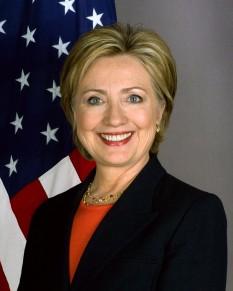 Hillary Diane Rodham Clinton, născută Hillary Diane Rodham, (n. 26 octombrie 1947, Chicago, Illinois), din 2009-2013 Secretar de Stat în administația Barack Obama, senator de New York în Senatul Statelor Unite ale Americii din partea Partidului Democrat din 2001 până în 2009. Hillary Clinton este căsătorită cu Bill Clinton, cel de-al patruzecișidoilea președinte al Statelor Unite ale Americii (între anii 1993 și 2001). Hillary Clinton este de profesie avocat - foto: ro.wikipedia.org