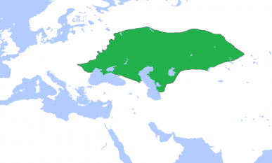 Hoarda de Aur, anul 1300 - foto: ro.wikipedia.org