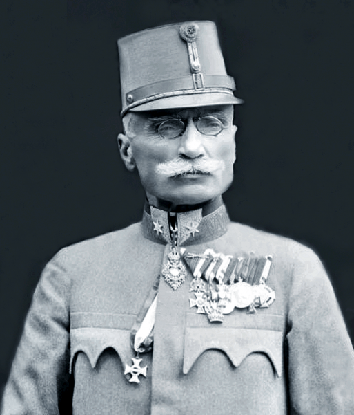 Generalul Ioan Boeriu, baron de Polichna (n. 10 octombrie 1859, Vaida-Recea, Comitatul Făgăraş, azi Recea, judeţul Braşov - d. 2 aprilie 1949, Sibiu) a fost un Feldmarschalleutnant al Armatei Imperiale Austro-Ungare, ridicat la rangul de baron, comandant al regimentului de infanterie 76, decorat cu Ordinul Maria Terezia, apoi general de corp de armată în România Mare - foto: ro.wikipedia.org